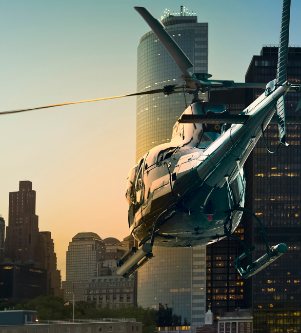 Airbus AS350 helicopter