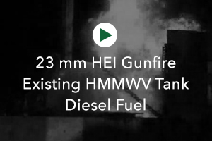 HEI Gunfire Existing Tank