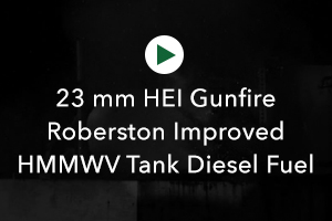 HEI Gunfire Robertson Improved HMMVW Diesel Fuel Tank