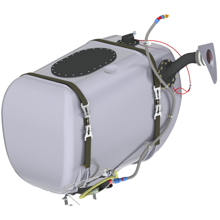 crash resistant fuel tank